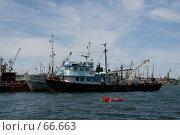 Купить «Корабль», фото № 66663, снято 10 июня 2007 г. (c) Алексей Судариков / Фотобанк Лори