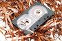Магнитная лента и аудиокассета, фото № 66691, снято 29 июля 2007 г. (c) Угоренков Александр / Фотобанк Лори