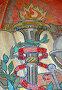 Свет знаний. Фрагмент мозаичного панно в Актовом зале МГУ, эксклюзивное фото № 66867, снято 23 июля 2007 г. (c) Татьяна Юни / Фотобанк Лори