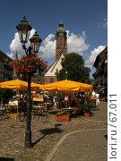 Купить «Германия. Эйнбек. Городской пейзаж», фото № 67011, снято 18 июля 2007 г. (c) Александр Секретарев / Фотобанк Лори