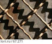 Купить «Абстрактная композиция - свет и тень в диагоналях», фото № 67271, снято 24 июня 2005 г. (c) Harry / Фотобанк Лори
