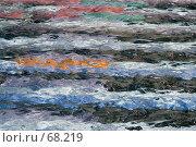 Столица Франции Париж. Район Дефанс. Бассейн с цветным дном (2007 год). Редакционное фото, фотограф Юрий Синицын / Фотобанк Лори