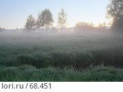 Купить «Туман на восходе», фото № 68451, снято 26 мая 2007 г. (c) Николай Богоявленский / Фотобанк Лори