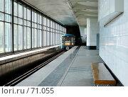 """Купить «Станция метро """"Воробьевы горы""""», фото № 71055, снято 29 июля 2007 г. (c) urchin / Фотобанк Лори"""