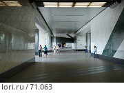 """Купить «Станция метро """"Воробьевы горы""""», фото № 71063, снято 29 июля 2007 г. (c) urchin / Фотобанк Лори"""