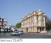 Купить «Украина, Одесса, центр города, около Оперного театра», фото № 72671, снято 29 марта 2020 г. (c) Галина  Горбунова / Фотобанк Лори
