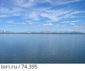 Купить «Озеро Мелкое. Вид на горы Путораны.», фото № 74395, снято 7 июля 2006 г. (c) Кукуруза Михаил Петрович / Фотобанк Лори