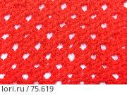 Купить «Образец вязания», фото № 75619, снято 21 июня 2007 г. (c) Максим Соколов / Фотобанк Лори