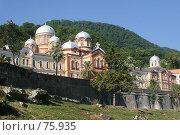 Купить «Новоафонский монастырь, Абхазия», фото № 75935, снято 30 июля 2007 г. (c) Vladimir Fedoroff / Фотобанк Лори