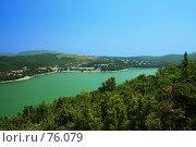 Озеро Абрау-Дюрсо. Стоковое фото, фотограф Вячеслав Осокин / Фотобанк Лори