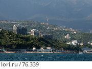 Купить «Вид на Ялту с моря, Крым», фото № 76339, снято 8 августа 2007 г. (c) Донцов Евгений Викторович / Фотобанк Лори