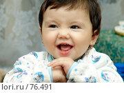Купить «Счастливый ребенок», фото № 76491, снято 24 мая 2019 г. (c) Мирсалихов Баходир / Фотобанк Лори