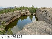 Купить «Казахстан. Каркаралинск. Озеро Бассейн.», фото № 76935, снято 3 августа 2007 г. (c) Михаил Николаев / Фотобанк Лори