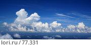 Купить «Воздушные замки. Панорама кучевых облаков.», фото № 77331, снято 30 июня 2007 г. (c) Владимир Мельников / Фотобанк Лори