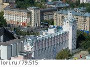 Купить «Панорама Москвы. Дарвиновский музей», фото № 79515, снято 2 сентября 2007 г. (c) Юрий Синицын / Фотобанк Лори