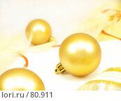 Купить «Новогодние шары», фото № 80911, снято 7 сентября 2007 г. (c) Angelina Ashukina / Фотобанк Лори