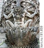 Купить «Декоративная скульптура», эксклюзивное фото № 81859, снято 29 июля 2007 г. (c) Михаил Карташов / Фотобанк Лори