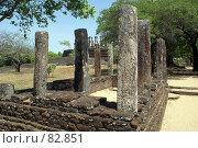Купить «Руины», фото № 82851, снято 3 июня 2007 г. (c) Валерий Шанин / Фотобанк Лори