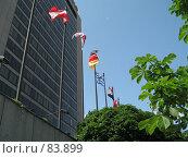 Купить «Центр международной торговли», фото № 83899, снято 1 июня 2007 г. (c) Бугаева Вероника Владимировна / Фотобанк Лори
