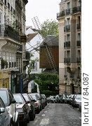 Купить «Монмартр. Париж.», эксклюзивное фото № 84087, снято 10 мая 2007 г. (c) Юлия Кузнецова / Фотобанк Лори