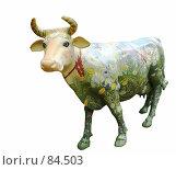 Купить «Счастливая буренка. (The happy cow.)», фото № 84503, снято 14 сентября 2007 г. (c) Анатолий Теребенин / Фотобанк Лори