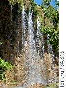 Купить «Водопад, Плитвицкие озера, Хорватия», фото № 84815, снято 15 июля 2007 г. (c) Golden_Tulip / Фотобанк Лори