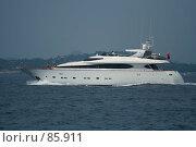 Яхта у берегов Хорватии. Стоковое фото, фотограф Андреев Виктор / Фотобанк Лори