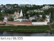 Купить «Старица. Успенский монастырь.», фото № 86555, снято 15 июля 2007 г. (c) Екатерина Соловьева / Фотобанк Лори