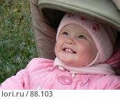 Ребенок улыбается. Стоковое фото, фотограф Огульчанский Александер / Фотобанк Лори