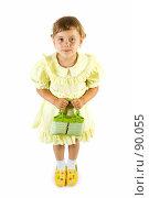 Купить «Маленькая девочка с сумочкой», фото № 90055, снято 16 июля 2007 г. (c) Вадим Пономаренко / Фотобанк Лори