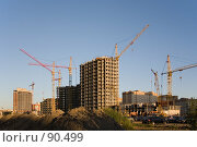 Купить «Строительство», фото № 90499, снято 8 августа 2007 г. (c) Argument / Фотобанк Лори