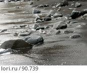 Купить «Морской берег», эксклюзивное фото № 90739, снято 28 мая 2018 г. (c) Михаил Карташов / Фотобанк Лори