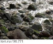 Купить «Камни и вода», эксклюзивное фото № 90771, снято 3 августа 2007 г. (c) Михаил Карташов / Фотобанк Лори