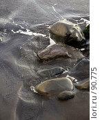 Купить «Камни на берегу», эксклюзивное фото № 90775, снято 3 августа 2007 г. (c) Михаил Карташов / Фотобанк Лори