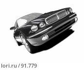 Купить «Черный автомобиль», иллюстрация № 91779 (c) ИЛ / Фотобанк Лори