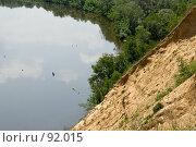Купить «Вид с обрыва на берег Дона», фото № 92015, снято 25 мая 2007 г. (c) Борис Панасюк / Фотобанк Лори