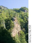 Купить «Гуамское ущелье», фото № 92151, снято 19 сентября 2018 г. (c) SummeRain / Фотобанк Лори