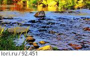Купить «Магия быстрой воды. (Magic of fast water. )», фото № 92451, снято 29 сентября 2007 г. (c) Анатолий Теребенин / Фотобанк Лори