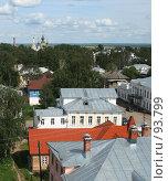 Купить «Великий Устюг. Вид с колокольни», фото № 93799, снято 2 августа 2007 г. (c) Екатерина Соловьева / Фотобанк Лори