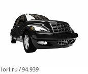 Купить «Черный американский автомобиль», иллюстрация № 94939 (c) ИЛ / Фотобанк Лори