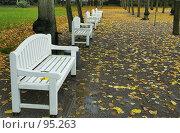 Осенний парк. Стоковое фото, фотограф Игорь Соколов / Фотобанк Лори