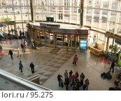 Купить «Минск, здание ж/д вокзала», фото № 95275, снято 23 апреля 2007 г. (c) Алексей / Фотобанк Лори