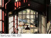 Купить «Выход из станции метро в Гамбурге», фото № 96151, снято 15 мая 2007 г. (c) Екатерина Соловьева / Фотобанк Лори
