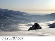Купить «Горы», фото № 97607, снято 30 декабря 2006 г. (c) Чеботарев Григорий Владимирович / Фотобанк Лори
