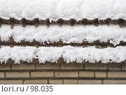 Купить «Зимние узоры», фото № 98035, снято 17 февраля 2007 г. (c) Юрий Синицын / Фотобанк Лори