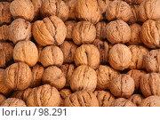 Купить «Грецкие орехи», фото № 98291, снято 11 октября 2007 г. (c) Владимир Мельник / Фотобанк Лори