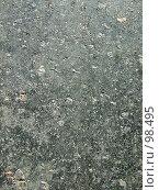 Купить «Текстура старого асфальта», фото № 98495, снято 25 августа 2007 г. (c) Сергей Сухоруков / Фотобанк Лори