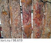 Забор. Стоковое фото, фотограф Абарникова Ирина / Фотобанк Лори