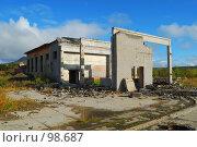 Купить «Полуразрушенное здание», фото № 98687, снято 8 сентября 2007 г. (c) Валерий Александрович / Фотобанк Лори