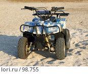 Купить «Квадроцикл», фото № 98755, снято 25 августа 2007 г. (c) Сергей Сухоруков / Фотобанк Лори